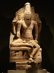 Four-armed Vishnu, Pandya Dynasty, 8-9th century CE.