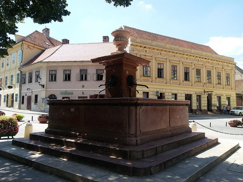Four Lions Fountain in Sremski Karlovci.2
