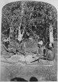 Four Nuaguntit Paiutes gambling, southwestern Nevada, 1873 - NARA - 517732.tif