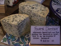 Fourme D'Ambert AUD68 per kg - Wine and Cheese Providores.jpg