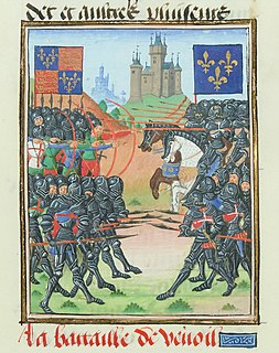 Battle of Verneuil Battle during the Hundred Years War