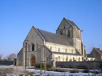 Carpiquet - The church in Carpiquet