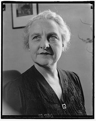 Cadet Nurse Corps - Representative Frances P. Bolton of Ohio in 1940