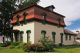 National Register of Historic Places listings in Fillmore County, Minnesota - Image: Francis H. Bartlett House