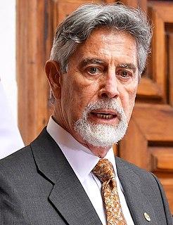 Francisco Sagasti Peruvian engineer, businessman, and current president