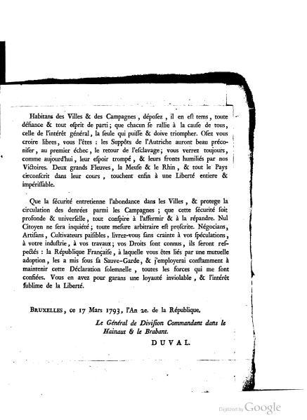 File:Francois-Raymond Duval - Proclamation aux citoyens de la Belgique contre l'Autriche, 1793.djvu