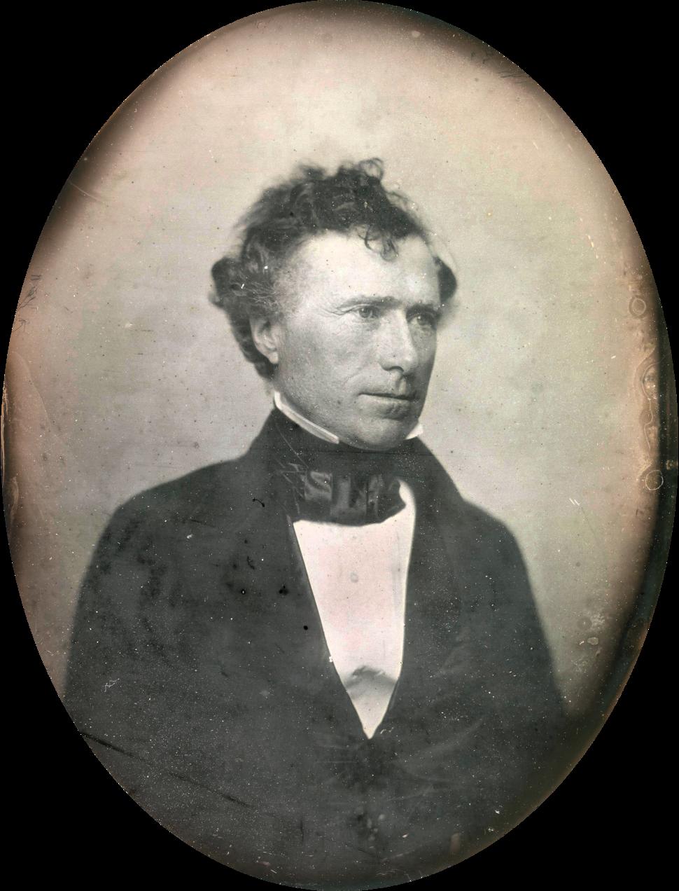 Franklin Pierce by Southworth & Hawes c1852