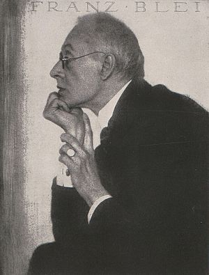 Franz Blei - Blei in 1918