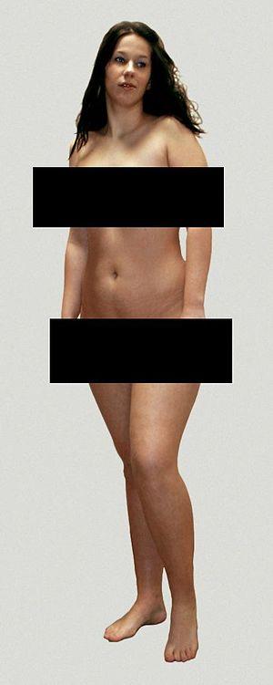 Censor bars - Image: Frau 2 censored de