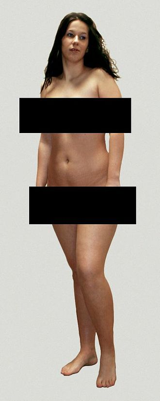 Censor bars - Image: Frau 2 censored de