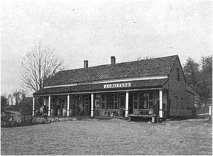 Ludington family - Frederick and Lewis built store about 1808 in Kent, New York.