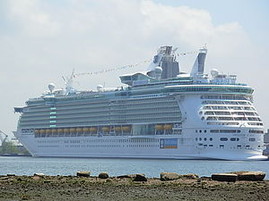 Cape Liberty Cruise Port - Image: Freedom of the Seas