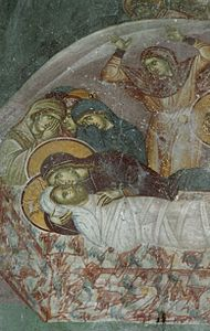 Frescos from St. Nikita Church in Banjani 01.jpg