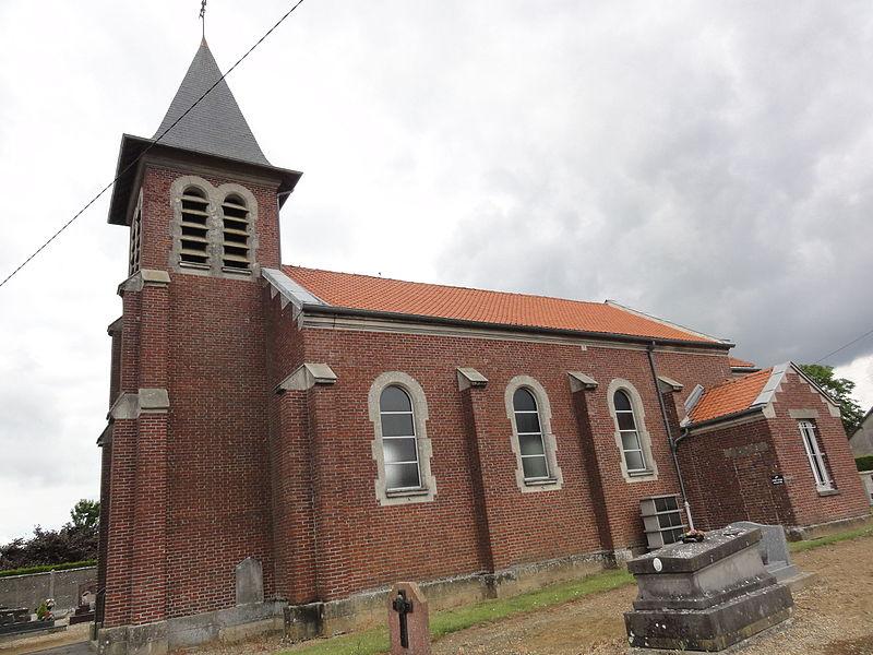Fresnes-sous-Coucy (Aisne) église