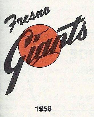 Fresno Giants - 1958–1984 logo