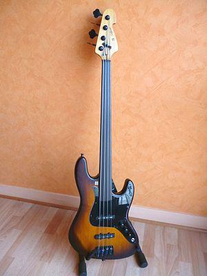 Fretless guitar - Fretless bass guitar