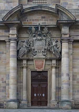 Fulda Cathedral - Main portal