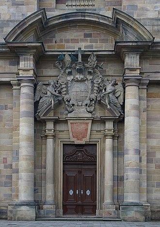 Fulda Cathedral - Main portal