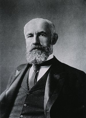 Portrait of Granville Stanley Hall (1844—1924).