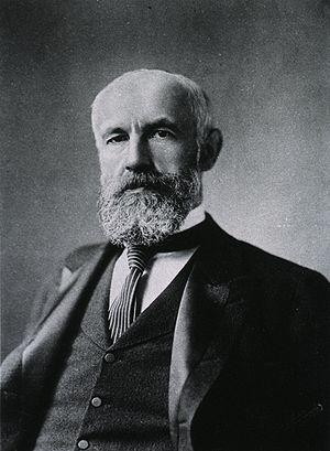 Portrait of Granville Stanley Hall (1844—1924).