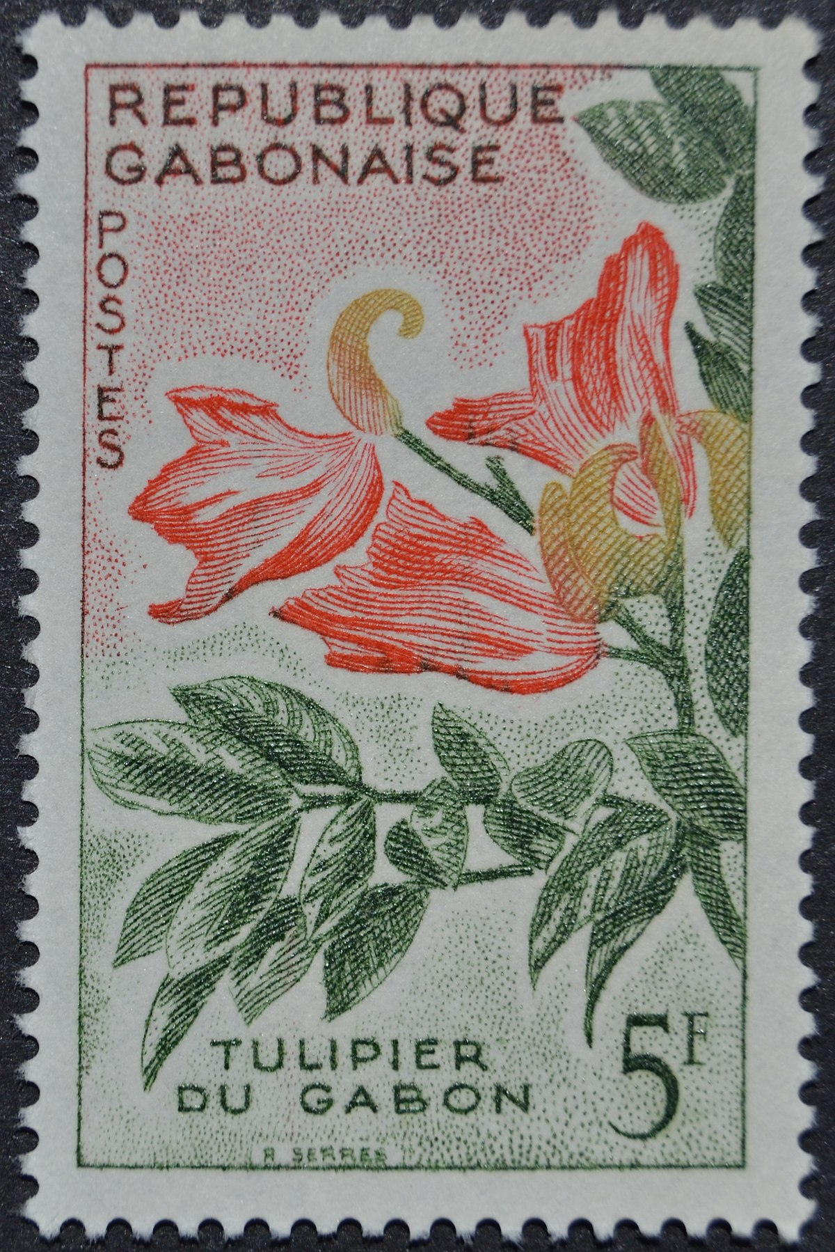 Postage Stamps And Postal History Of Gabon