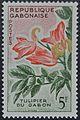 Gabão 1961 tulipa.JPG
