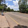 Gaborone Main Mall road.jpg