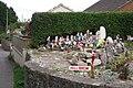 Garden gnomes, Shutterton Lane - geograph.org.uk - 1509990.jpg