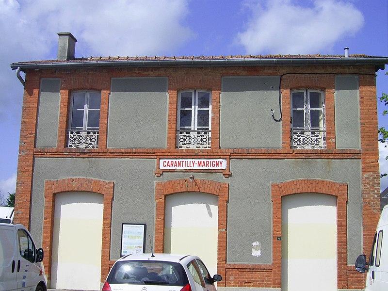 Gare de Carantilly-Marigny