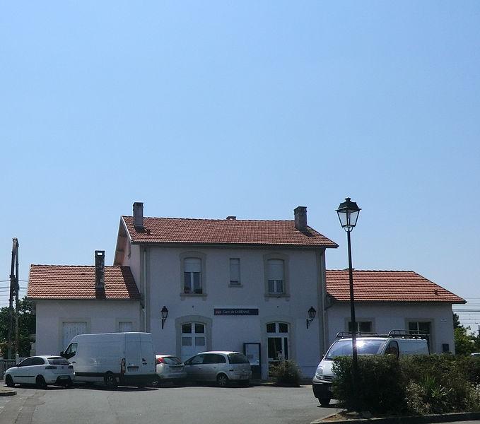 Gare de Labenne.