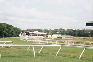 Garrison Savannah Racetrack - Image: Garrison Savannah stands 2, Barbados