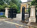 Gate and gate piers to west of St Peter Walworth, May 2018.jpg