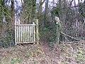 Gate into Penhow Woods - panoramio.jpg