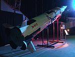 Gateway to space 2016, Budapest, Saturn-V Moon rocket model 4.jpg