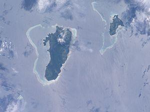 Gau Island - Image: Gau large ISS006 E 38731