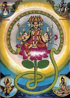 Gayatri Personification of the Gayatri Mantra