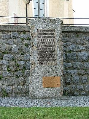 Postenpflicht - Monument for the Mühlviertler Hasenjagd