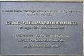 Gedenktafel Am Kupfergraben (4a) Georg Wilhelm Friedrich Hegel.JPG