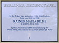 Gedenktafel Hundekehlestr 11 (Schmarg) Rainer Maria Rilke.JPG