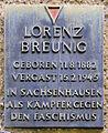 Gedenktafel Miltenberger Weg 9 (Pank) Lorenz Breuning.jpg
