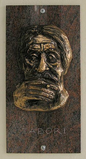George Tabori - Memorial tablet at Schiffbauerdamm 6/7 in Berlin