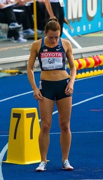 Geena Lara - Gall at the 2009 World Championships