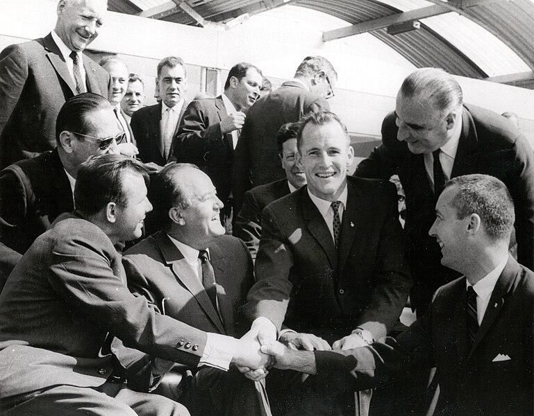 File:Gemini 4 Astronauts Meet Yuri Gagarin.jpg