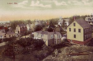 Lubec, Maine - Image: General View of Lubec, ME