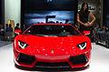 Geneva MotorShow 2013 - Lamborghini Aventador red 1.jpg