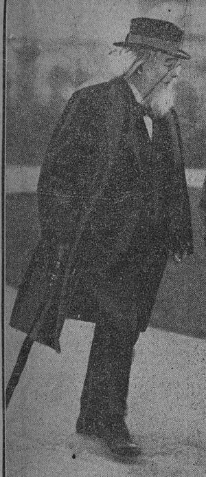 George Sigerson - Sigerson, circa 1922.