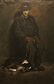 George Wesley Bellows - Man and Dog (1905).jpg
