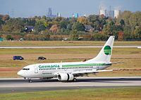 D-AGER - B737 - Germania
