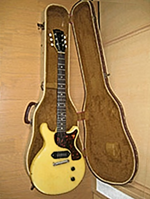 Gibson Les Paul Junior - Gibson '59 Les Paul TV (reissued 1959 Junior DC in TV Yellow)