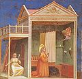Giotto - Scrovegni - -03- - Annunciation to St Anne.jpg